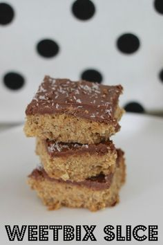 Lunch Box Recipes - Weetbix Slice