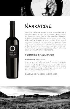 Narrative | Fortified Small Batch Tasting Notes Nonfiction, Wines, Vodka Bottle, Deserts, Conditioner, Non Fiction, Postres, Dessert, Plated Desserts