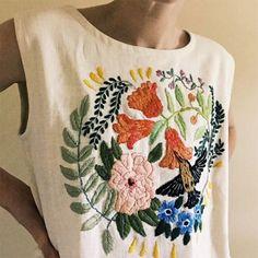 Broderies fleuries / flowers embroidery