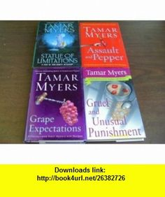 Tamar Myers COLLECTION OF MYSTERIES (4 ) (PENNSYLVANIA DUTCH MYSTERIES ASSAULT AND PEPPER, GRUEL AND UNUSUAL PUNISHMENT, GRAPE EXPECTATIONS; DEN OF ANTIQUITY MYSTERY STATUE OF LIMITATIONS) TAMAR MYERS ,   ,  , ASIN: B005MVCEAQ , tutorials , pdf , ebook , torrent , downloads , rapidshare , filesonic , hotfile , megaupload , fileserve