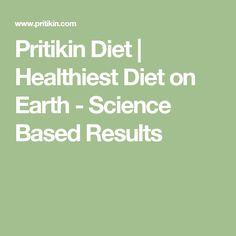 Pritikin Diet   Healthiest Diet on Earth - Science Based Results