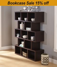 Discover the space saving solutions with our Bookcases collection!  15% Off ALL Bookcases!