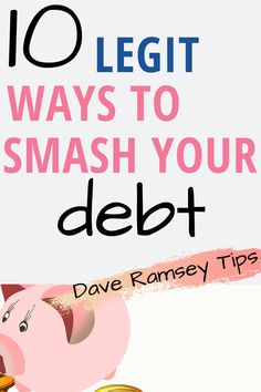 10 Personal Finance Tips From Dave Ramsey To Help Pay Off Debt Quick Ways To Save Money, Money Saving Tips, Saving Ideas, Money Tips, Budgeting Finances, Budgeting Tips, Financial Guru, Total Money Makeover, Managing Your Money