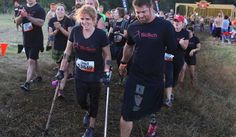 Seeing that amputee veteran Noah Galloway had completed a Tough Mudder after losing an arm and leg in Iraq, Ilene Boyar, who has Brittle Bone Disease, was inspired. She reached out, and Galloway said he would do one with her!