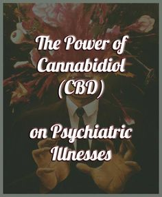 But what would happen if I told you that cannabis can do the exact opposite as well and if used correctly could potentially be used as a treatment for schizophrenia and other psychotic disorders.