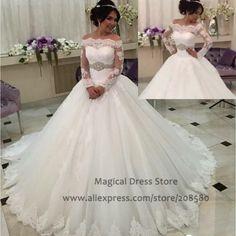 nice Wedding Dresses Lace Ballgown