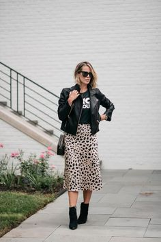 Summer To Fall | Leopard Slip Skirt | my kind of sweet | fall outfits | fall style 202 | fall street style | summer outfits | outfit ideas | outfit inspiration | summer style | midi skirt | workwear | mom style #fallstyle #falloutfits #outfitideas #outfitinspiration #summerstyle #summeroutfits #midiskirt #leopardskirt Fall Outfits, Summer Outfits, Leopard Skirt, Slip Skirts, Autumn Summer, Mom Style, Work Wear, Midi Skirt, Autumn Fashion