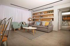 צעירה חסרת מנוח: עיצוב והלבשה של דירה עירומה בירושלים | בניין ודיור