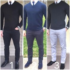 Mens Fashion Smart – The World of Mens Fashion Work Casual, Men Casual, Smart Casual Men Work, Smart Casual Sweater, Mode Man, Business Casual Men, Herren Outfit, Men Style Tips, Gentleman Style