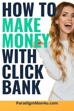 When I was first getting into affiliate marketing, there was one affiliate network that every affiliate marketer was talking about, and that is; Today, I want to share with you my guide on how to make money with Clickbank (in Affiliate Marketing, Marketing Program, Money Making Websites, Make Money Blogging, Earning Money, Make Money Fast, Make Money From Home, Make Money Today, Big Money
