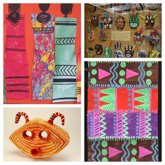 20 African Art Project ideas for kids! #kidsart #Africanartprojects