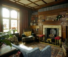 Wightwick Manor - Library