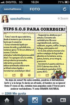 Tips de Sascha para corregir...