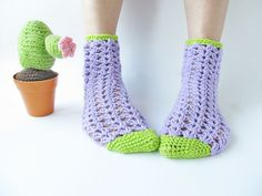 Crochet Socks.