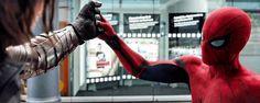 'Capitán América: Civil War': Nuevas imágenes de Spider-Man luchando contra Bucky Barnes - Noticias de cine - SensaCine.com
