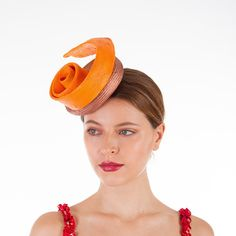 Grande corallo Aliceband Cappello Fascinator con hatinator Cerchietto ROYAL Ascot Donna giorno