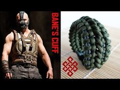Bane's Cuff Paracord Bracelet with Buckles Tutorial - YouTube