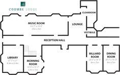 Coombe Lodge - Floor Plan