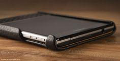 Premium Blackberry Passport Leather Case