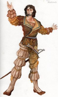 Trinculo-Costume Rendering by *ScottAronow on deviantART