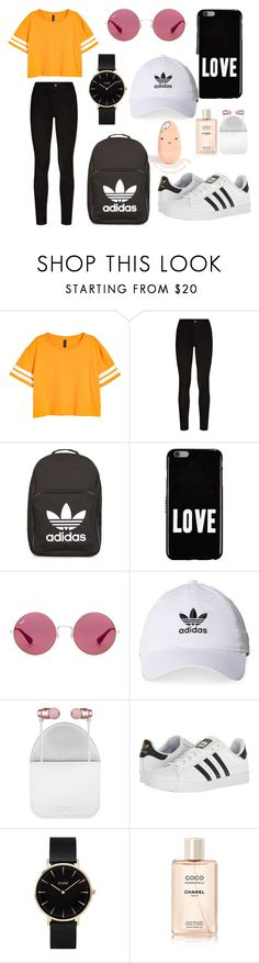 """""""orage"""" by aleksandradimitrova6 ❤ liked on Polyvore featuring Paige Denim, adidas, Givenchy, Ray-Ban, CYLO and CLUSE"""