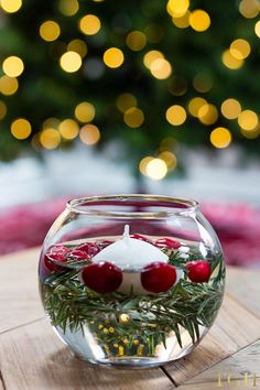 DIY Christmas Decorations Easy. DIY Christmas Decorations for Home. DIY Christmas Decorations Dollar Store. DIY Holiday Decorations Winter. Floating Candle Centerpieces DIY. #diyproject #holidaydecor #christmasdecorating