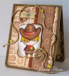 Little Sheriff by My Scrap Diary - Cards and Paper Crafts at Splitcoaststampers
