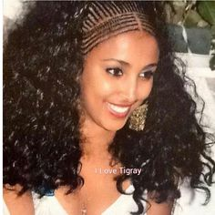 Ethiopian Braids Collection ethiopian braid and how to rock them braided hairstyles Ethiopian Braids. Here is Ethiopian Braids Collection for you. Ethiopian Braids ethiopian braid and how to rock them braided hairstyles. Box Braids Hairstyles, Braided Ponytail Hairstyles, African Hairstyles, Fishtail Braids, Plaits, Ethiopian Braids, Ethiopian Beauty, Curly Hair Styles, Natural Hair Styles