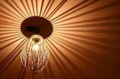 whisk lampshade