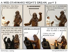 A Mid-StarWars Night's Dream, Episode 2 — Good Tickle Brain: A Mostly Shakespeare Webcomic