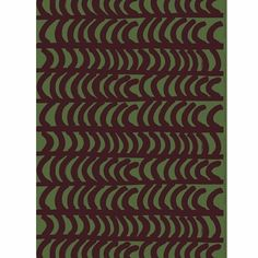 Marimekko Rautasänky Green/Red Upholstery Fabric - Click to enlarge - not sure if currently in production