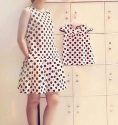 Mother Daughter Fashion, Mother Daughters, Chic Outfits, Girl Outfits, Girl Dress Patterns, Kids Fashion, Womens Fashion, Matching Outfits, Casual Looks