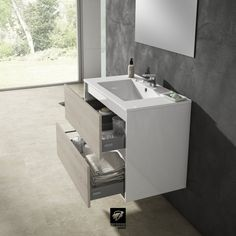 Cuarto de baño con mobiliario Taiga