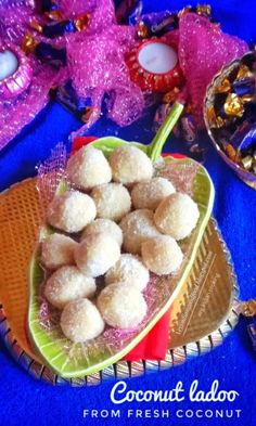 Fresh Coconut Ladoo Recipe   Sharing recipe with step by step photos..   #coconutladoo  #festival  #festivalseason  #delicious  #yummy  #easyrecipes #indiansweets #diwalicelebrations #diwali2017 #diwalisweets #Indianrecipes #indianfood  #sweet  #dessert  #recipe  #recipeoftheday #yummilicious #sweets #festivaloflights #feedfeed #coconutsweet #coconutladoo Coconut Recipes Indian, Coconut Barfi Recipe, Indian Food Recipes, Indian Ladoo Recipe, Fresh Milk, Indian Sweets, Condensed Milk, Sweets Recipes, Recipe Sharing