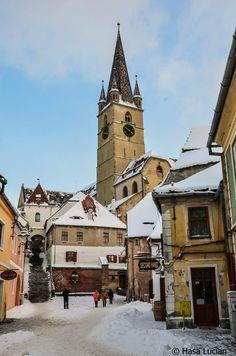 Sibiu,Romania Sibiu Romania, Black Sea, Eastern Europe, World Cultures, Dracula, Vampires, Geography, Places To See, Chile