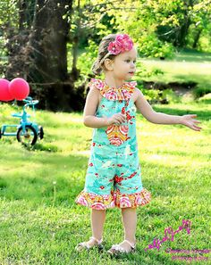 @Whimsy Couture I NEED this pattern bc my daughter REFUSES to wear dresses. This way I can get my frills in :)