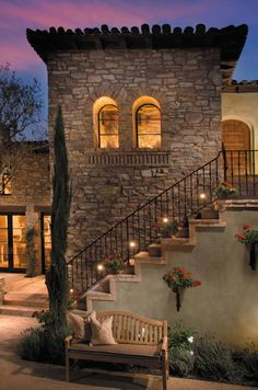 Ideas For House Exterior Italian Spanish Style Mediterranean Style Homes, Spanish Style Homes, Spanish House, Mediterranean Architecture, Spanish Revival, Mediterranean Bathroom, Tuscan Style Homes, Rustic Italian, Italian Villa