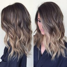 """796 Likes, 34 Comments - BRITTANY GONZALEZ (@hairbybrittanyy) on Instagram: """"No more brass #babylights #hairpainting #sombre #ombre #balayage #beachwaves #sunkissed…"""""""