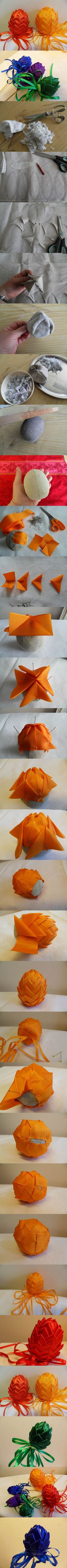 DIY Easter Egg Decoration Artichokes | iCreativeIdeas.com Like Us on Facebook ==> https://www.facebook.com/icreativeideas