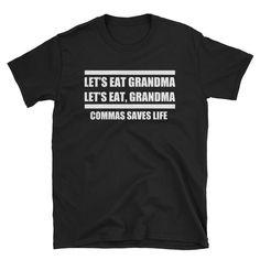 The Comma Short-Sleeve Unisex T-Shirt