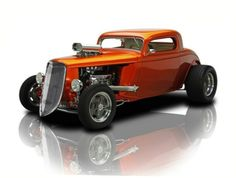 1933 Ford Coupe Blown 468 V8