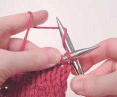 Knitpicks tutorial: continental knitting - knit stitch.    A great, straightforward explanation and demonstration.