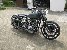Harley-Bobber Softail - Cheap-ASS-Bobber Umbauten