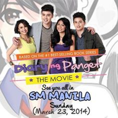 Catch the cast of Diary ng Panget today at SM City Manila!