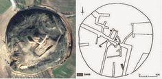 labyrinth-amphipolis Datos geofísicos indican la presencia de un laberinto bajo el montículo funerario de Anfípolis