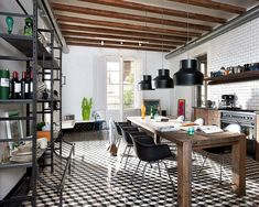 Barcelona Style: Retro-modern Interior Design Project by Egue y Seta