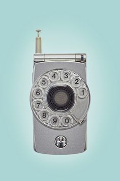 Rotary Dial Cell Phone! And we thought cell phones were supposed to make things easier...
