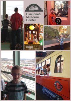 Cincinnati Staycation Destination  for the Family: Cincinnati Museum Center