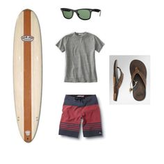 Great men's look for our Beach Vacation fashion challenge
