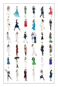 Kate Middleton duchesse de Cambridge mode Poster par RepliKateIt